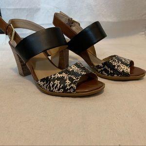 Animal Print Sandals size 6